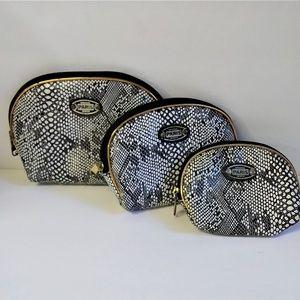 Paris Original Design Set of 3 Makeup Bags